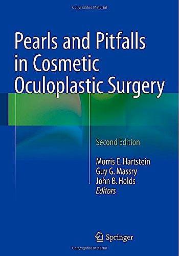 Portada del libro 9781493915439 Pearls and Pitfalls in Cosmetic Oculoplastic Surgery