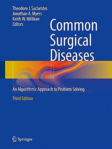 Portada del libro 9781493915644 Common Surgical Diseases. an Algorithmic Approach to Problem Solving
