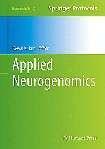 Portada del libro 9781493922468 Applied Neurogenomics