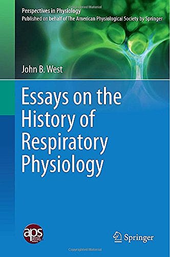 Portada del libro 9781493923618 Essays on the History of Respiratory Physiology