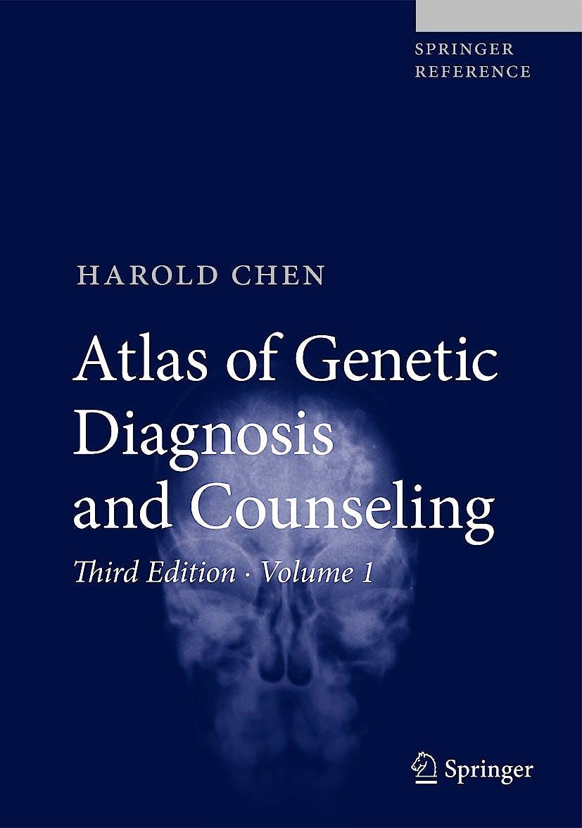 Portada del libro 9781493924028 Atlas of Genetic Diagnosis and Counseling (3 Vols. + Online Access)