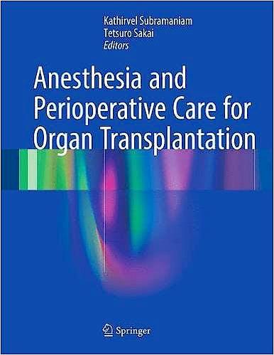 Portada del libro 9781493963751 Anesthesia and Perioperative Care for Organ Transplantation