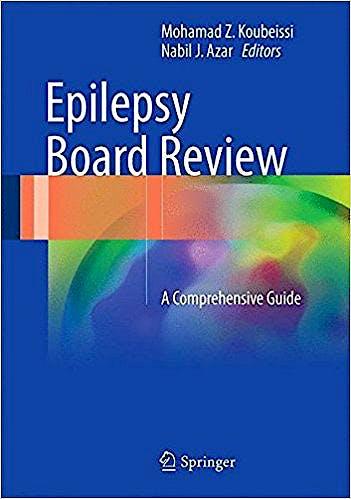 Portada del libro 9781493967728 Epilepsy Board Review. A Comprehensive Guide