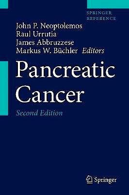 Portada del libro 9781493971923 Pancreatic Cancer, 3 Vols. (Print + eBook)