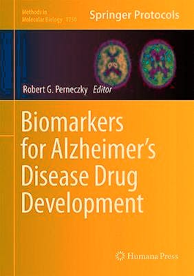 Portada del libro 9781493977031 Biomarkers for Alzheimer's Disease Drug Development (Methods in Molecular Biology, Vol. 1750)