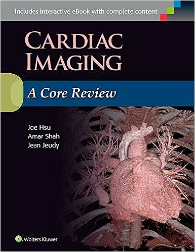 Portada del libro 9781496300614 Cardiac Imaging. A Core Review