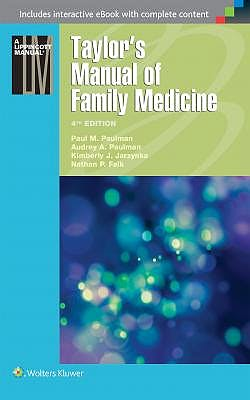 Portada del libro 9781496300683 Taylor's Manual of Family Medicine