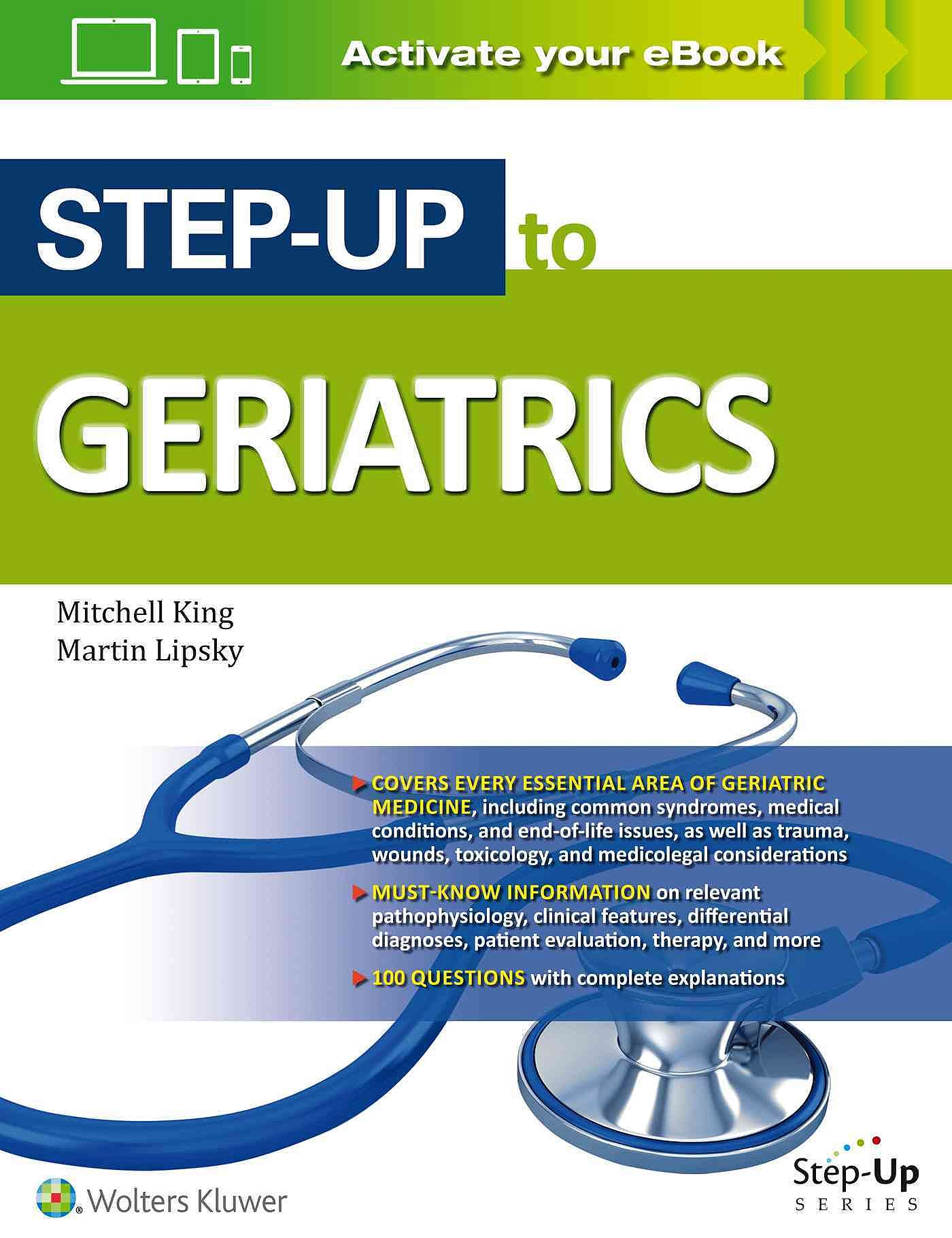 Portada del libro 9781496301277 Step-up to Geriatrics
