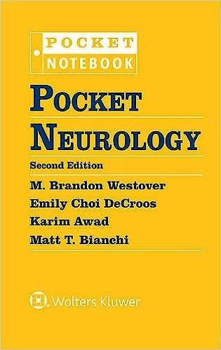 Portada del libro 9781496305534 Pocket Neurology (Pocket Notebook)