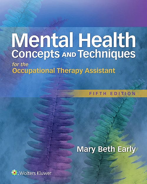 Portada del libro 9781496309624 Mental Health. Concepts and Techniques for the Occupational Therapy Assistant