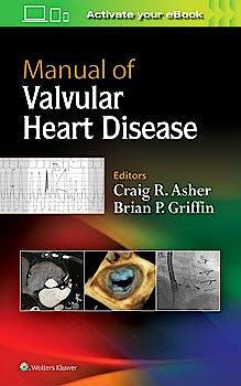 Portada del libro 9781496310125 Manual of Valvular Heart Disease