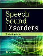 Portada del libro 9781496316240 Speech Sound Disorders