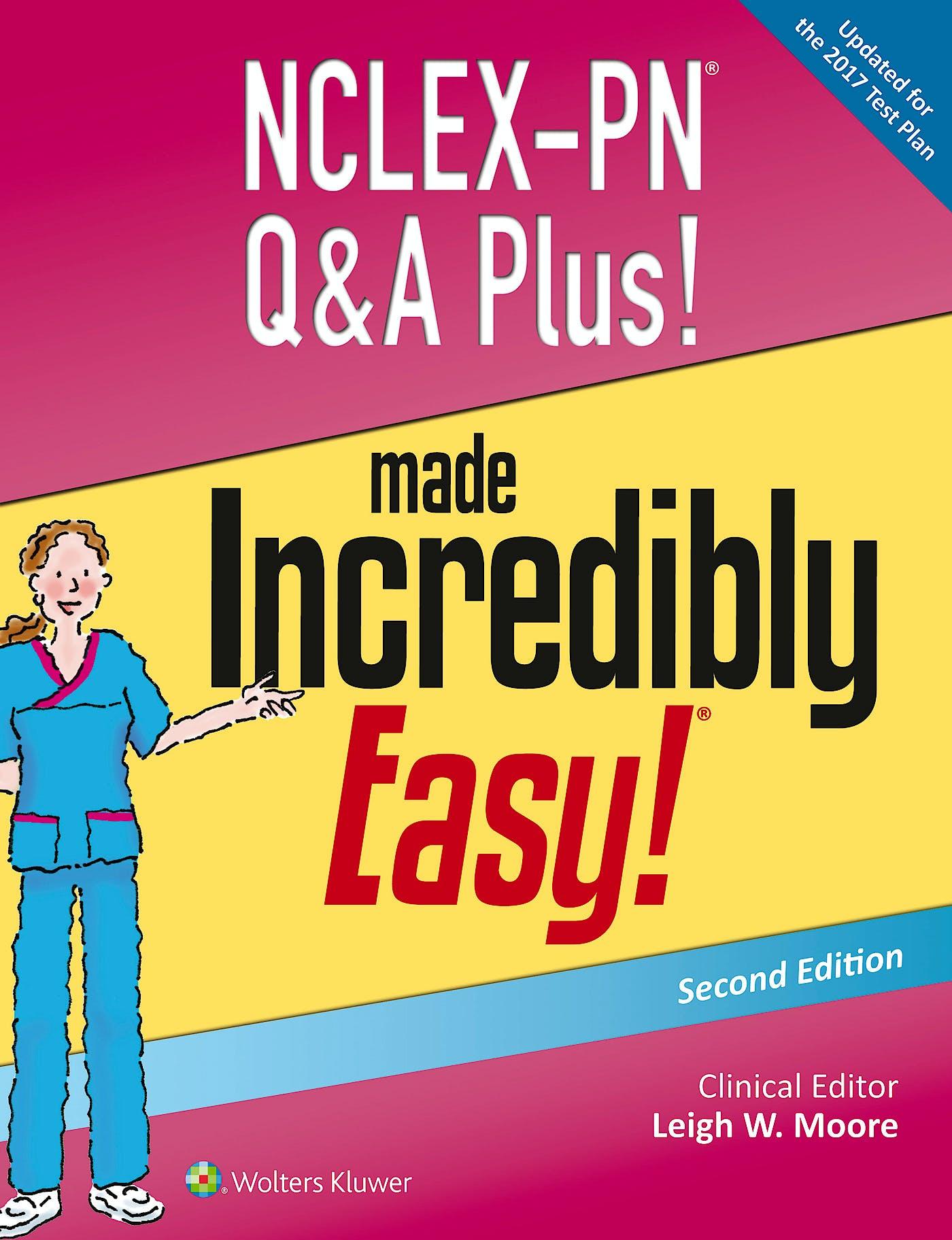 Portada del libro 9781496316721 Nclex-Pn Q&a Plus! Made Incredibly Easy!