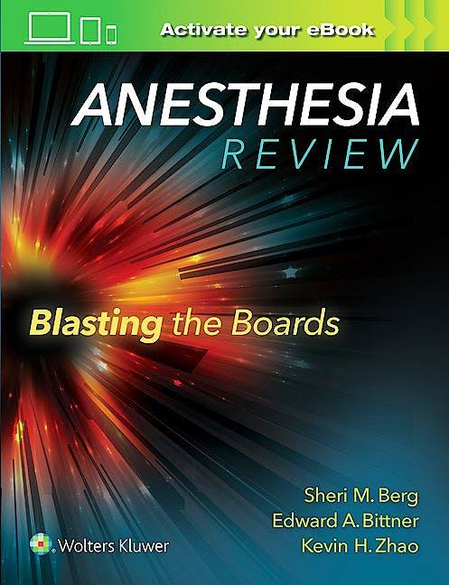 Portada del libro 9781496317957 Anesthesia Review. Blasting the Boards