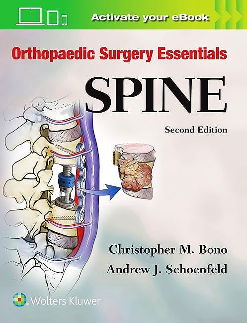 Portada del libro 9781496318541 Spine. Orthopaedic Surgery Essentials