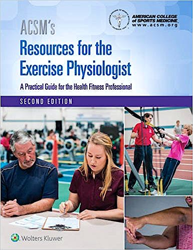 Portada del libro 9781496322869 ACSM's Resources for the Exercise Physiologist