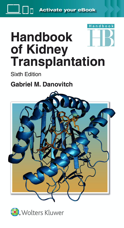 Portada del libro 9781496326157 Handbook of Kidney Transplantation