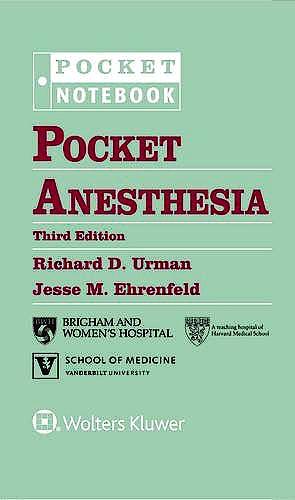 Portada del libro 9781496328557 Pocket Anesthesia