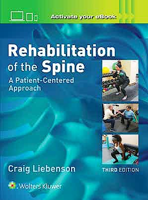 Portada del libro 9781496339409 Rehabilitation of the Spine. A Patient-Centered Approach
