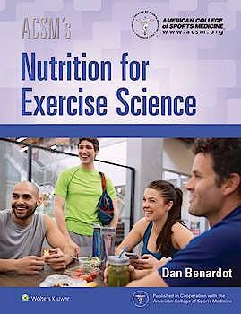 Portada del libro 9781496343406 ACSM's Nutrition for Exercise Science