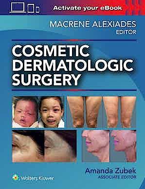 Portada del libro 9781496344168 Cosmetic Dermatologic Surgery