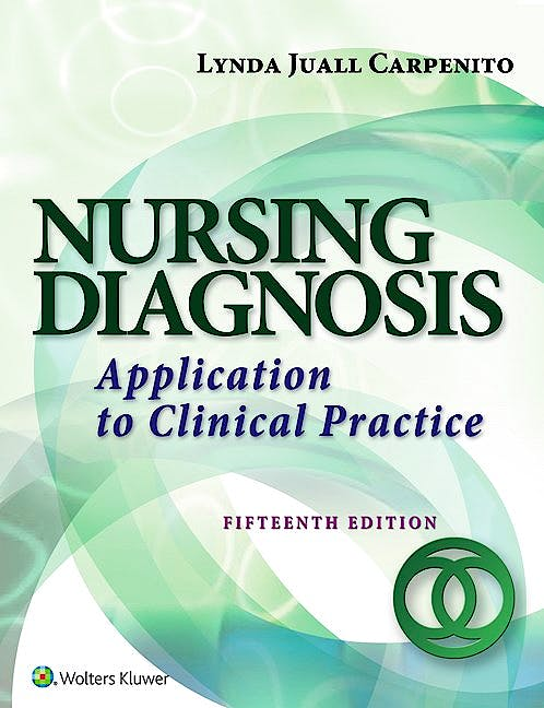 Portada del libro 9781496344946 Nursing Diagnosis. Application to Clinical Practice