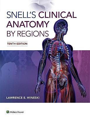 Portada del libro 9781496345646 Snell's Clinical Anatomy by Regions