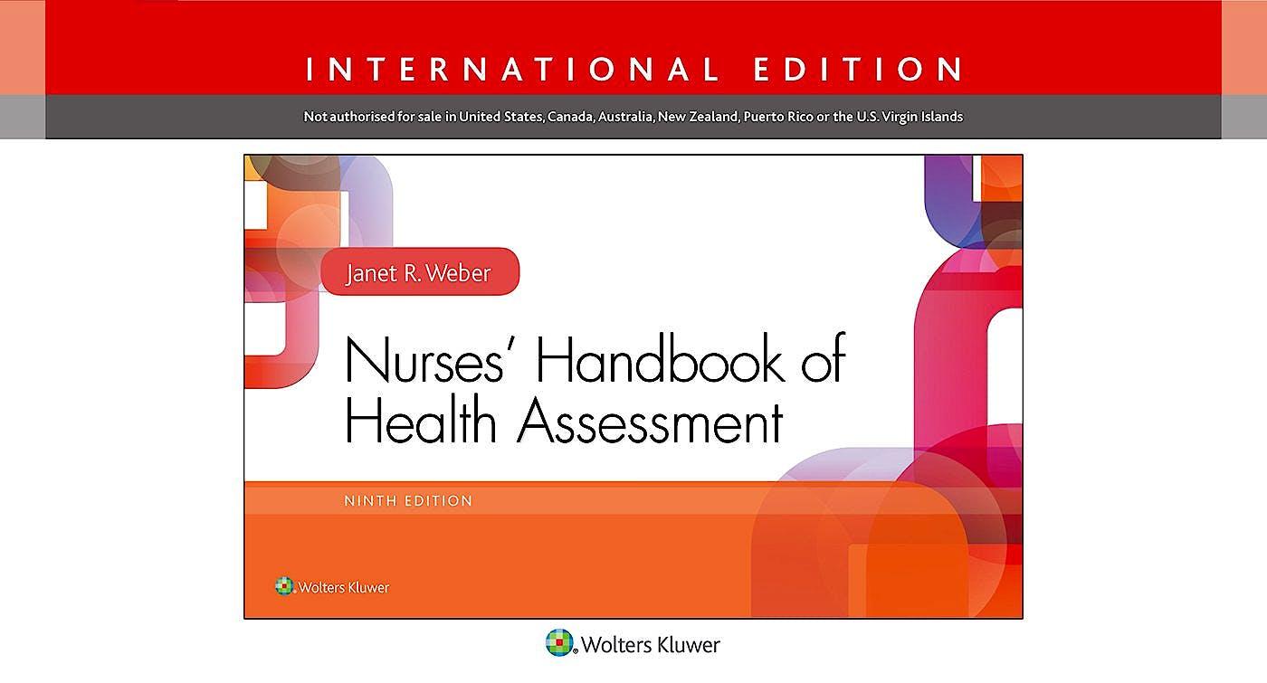 Portada del libro 9781496345868 Nurses' Handbook of Health Assessment (International Edition)