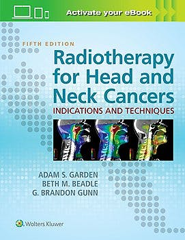 Portada del libro 9781496345899 Radiotherapy for Head and Neck Cancers. Indications and Techniques