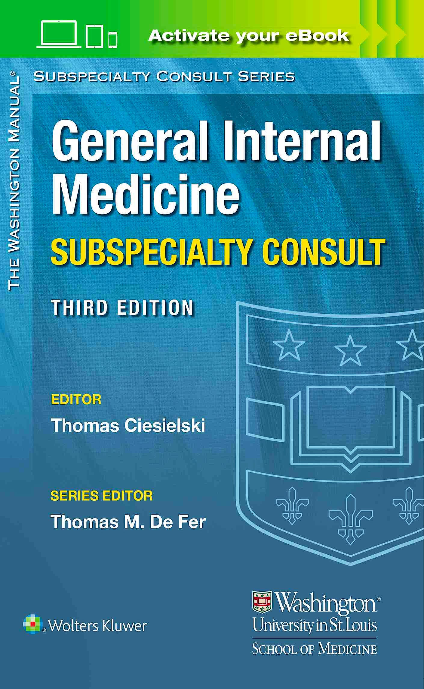 Portada del libro 9781496346322 The Washington Manual General Internal Medicine Consult