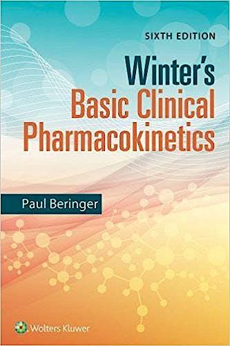 Portada del libro 9781496346421 Winter's Basic Clinical Pharmacokinetics