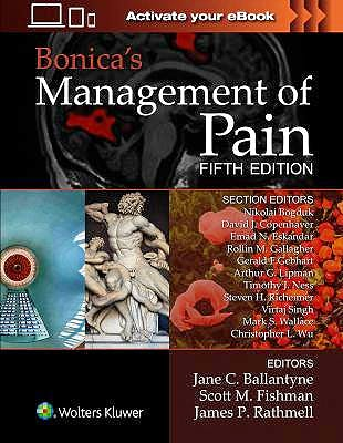 Portada del libro 9781496349033 Bonica's Management of Pain