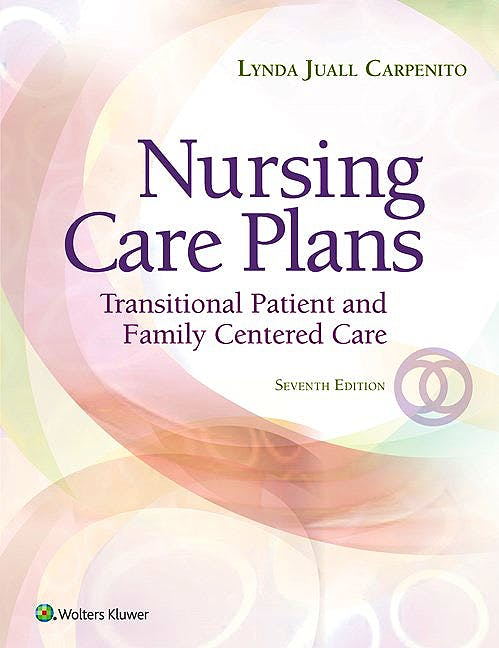 Portada del libro 9781496349262 Nursing Care Plans. Transitional Patient and Family Centered Care