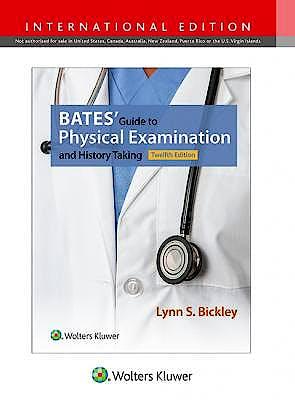 Portada del libro 9781496350299 BATES' Guide to Physical Examination and History Taking