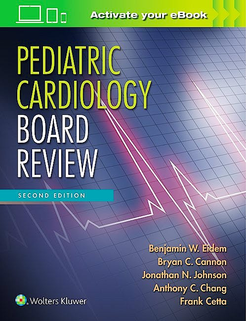 Portada del libro 9781496351234 Pediatric Cardiology Board Review