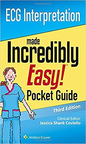 Portada del libro 9781496352163 Ecg Interpretation: An Incredibly Easy Pocket Guide