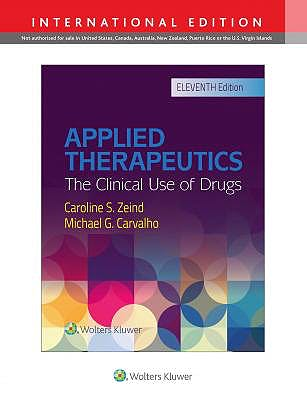 Portada del libro 9781496353795 Applied Therapeutics. The Clinical Use of Drugs (International Edition)