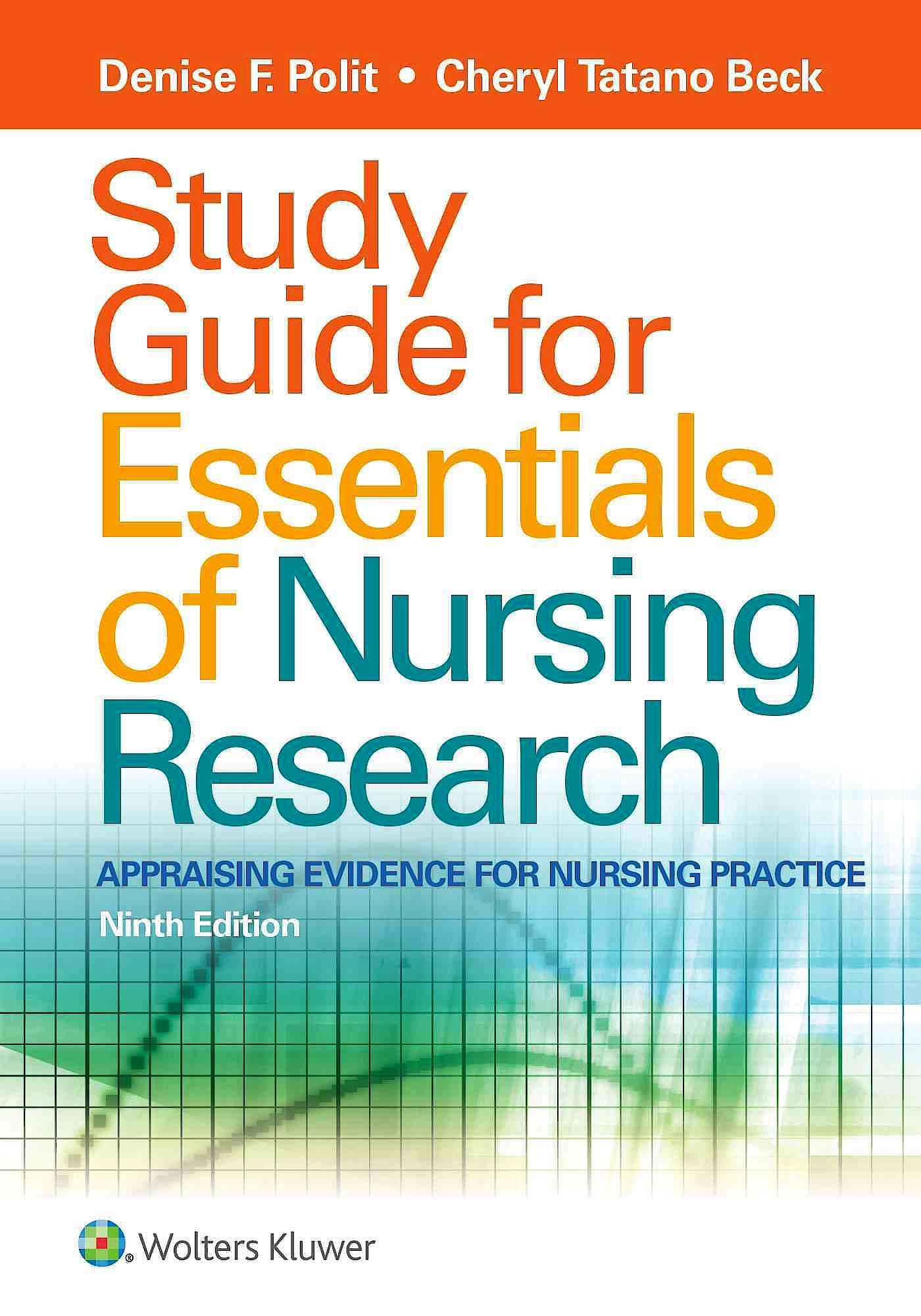 Portada del libro 9781496354693 Study Guide for Essentials of Nursing Research