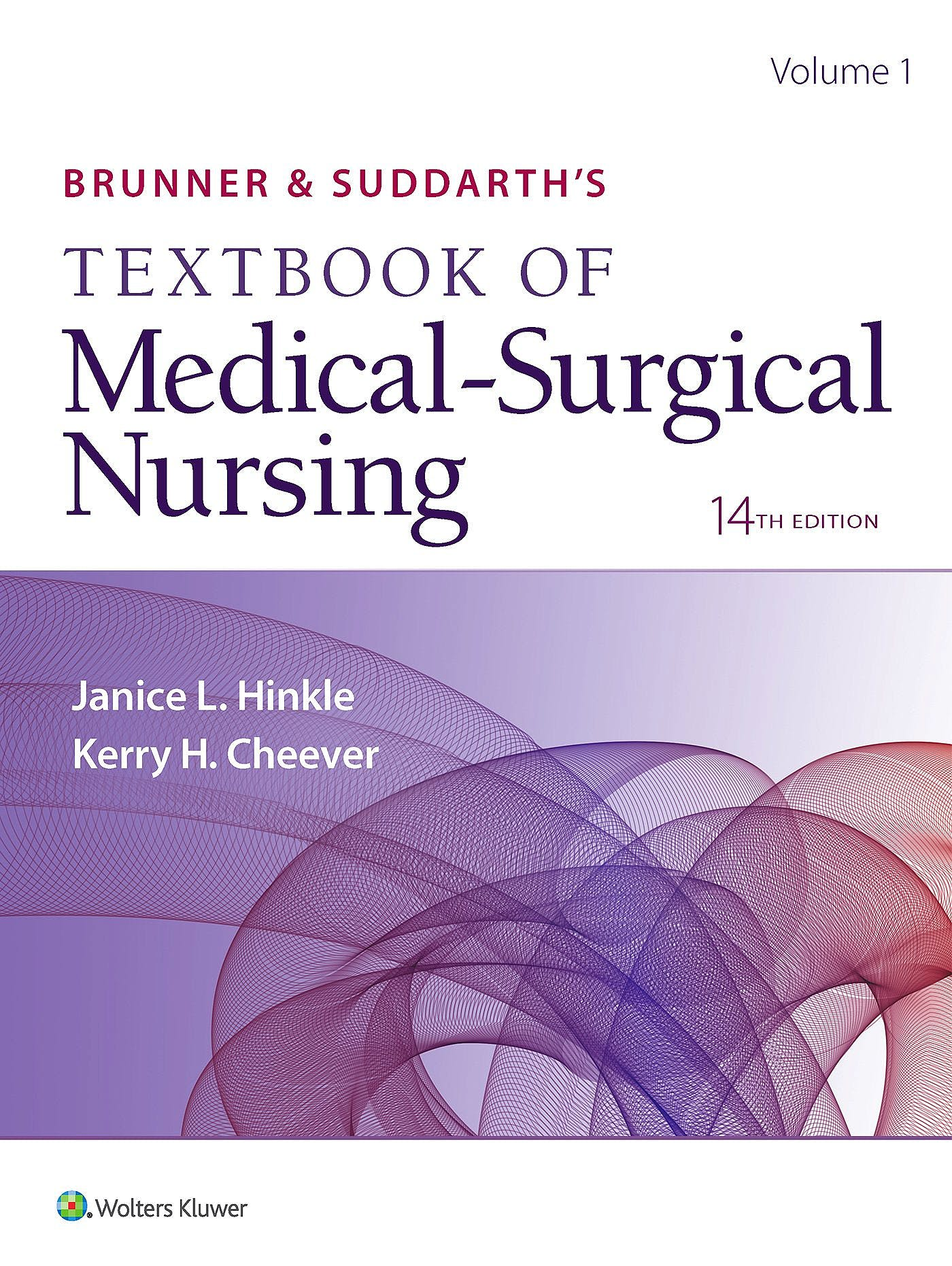 Portada del libro 9781496355133 Brunner and Suddarth's Textbook of Medical-Surgical Nursing (International Edition)