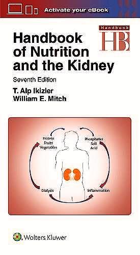Portada del libro 9781496355812 Handbook of Nutrition and the Kidney