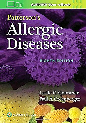 Portada del libro 9781496360298 Patterson's Allergic Diseases