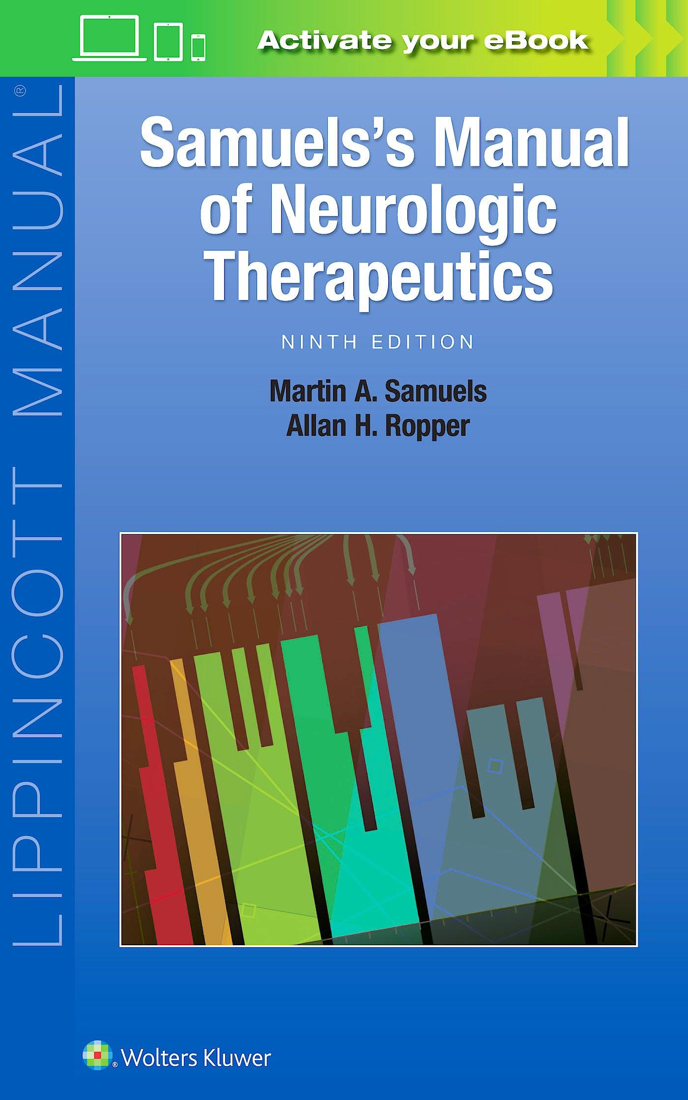 Portada del libro 9781496360311 Samuel's Manual of Neurologic Therapeutics