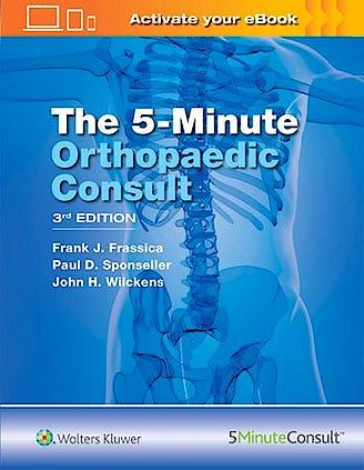 Portada del libro 9781496360632 The 5-Minute Orthopaedic Consult