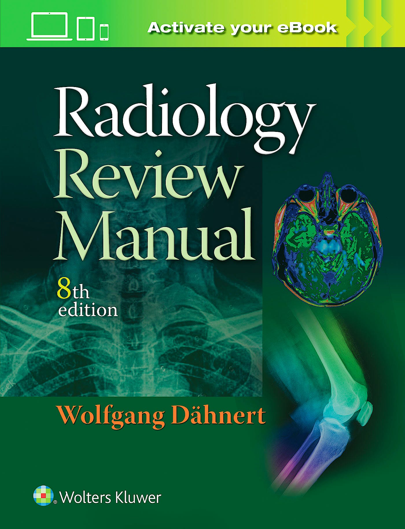 Portada del libro 9781496360694 Radiology Review Manual