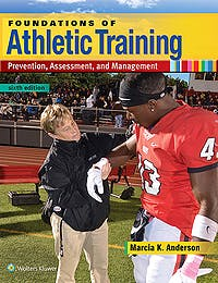 Portada del libro 9781496360939 Foundations of Athletic Training