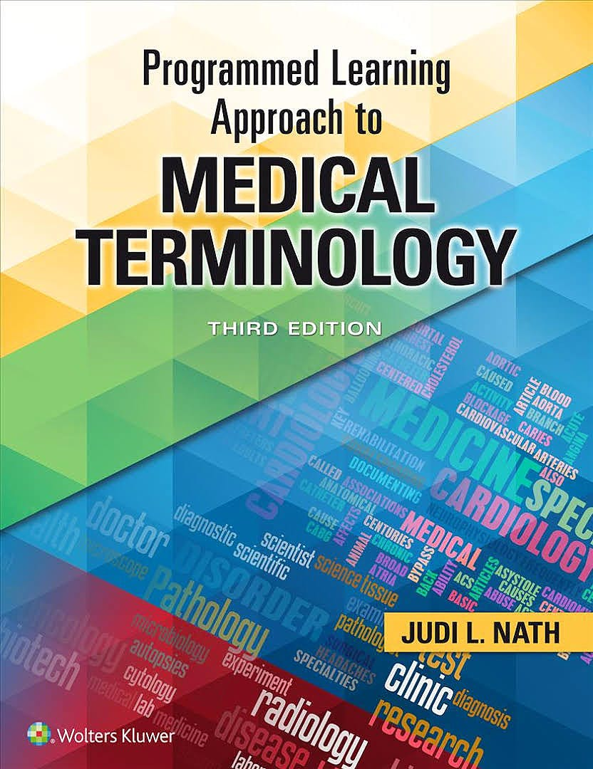 Portada del libro 9781496360991 Programmed Learning Approach to Medical Terminology