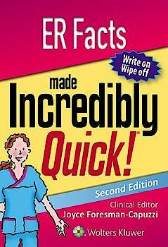 Portada del libro 9781496363633 ER Facts Made Incredibly Quick!