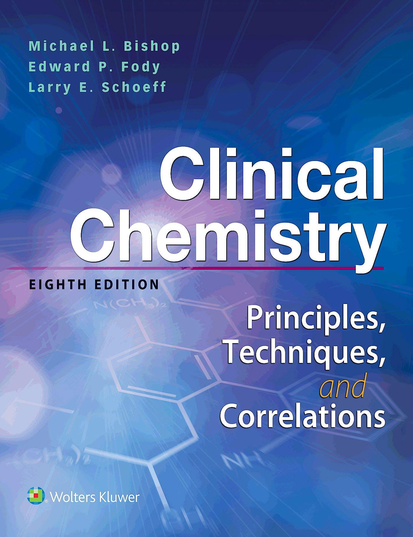 Portada del libro 9781496365392 Clinical Chemistry. Principles, Techniques, Correlations