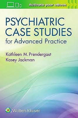 Portada del libro 9781496367822 Psychiatric Case Studies for Advanced Practice