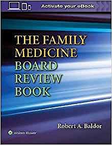 Portada del libro 9781496370884 The Family Medicine Board Review Book